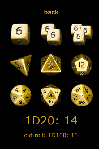 Screenshot Simple RPG Dice